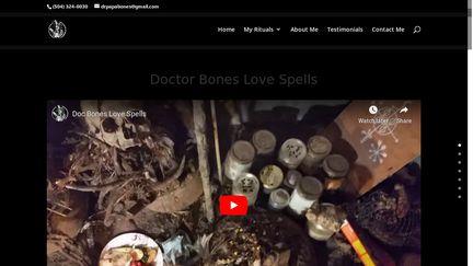 Doctor Bones Love Spells
