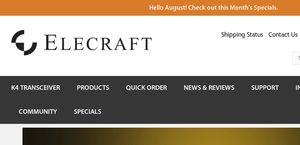 Elecraft Reviews - 1 Review of Elecraft com | Sitejabber
