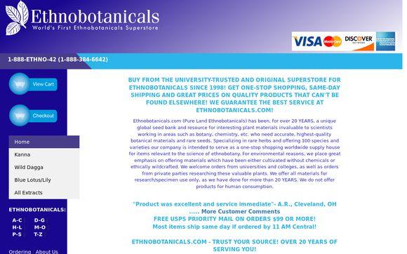 ETHNOBOTANICALS.COM