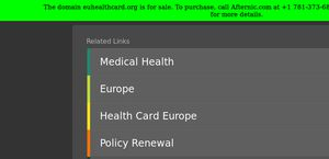 Euhealthcard.org