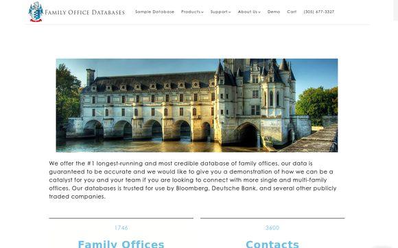 Family Office Databases