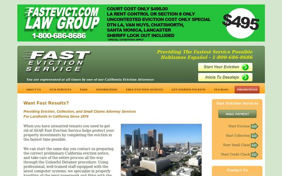 Fast Eviction Service