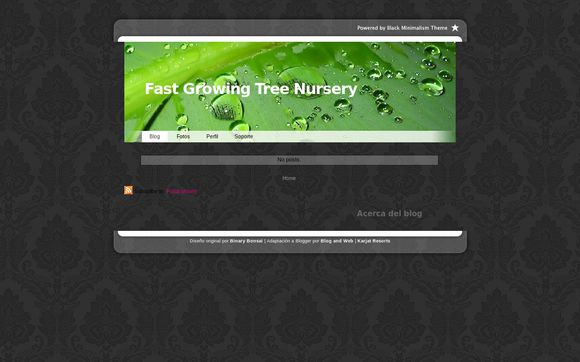 Fast Growing Tree Nursery