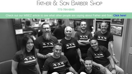 FatherandSonBarberShop