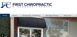 Firstchiropractic.co