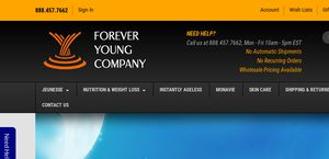 Foreveryoungcompany.com