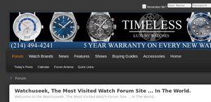 Forums.watchuseek