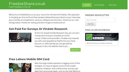 FreebieShare.co.uk