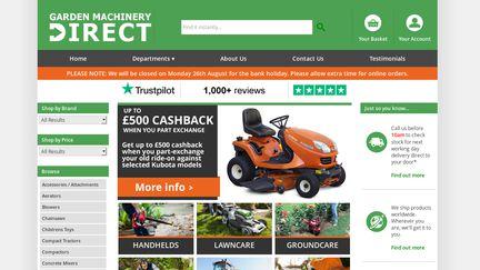 Gardenmachinerydirect.co.uk