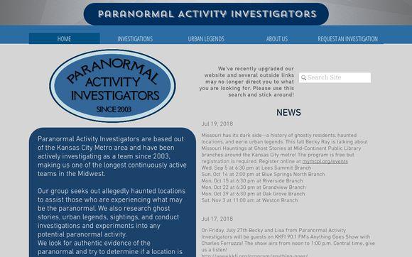 Paranormal Activity Investigators