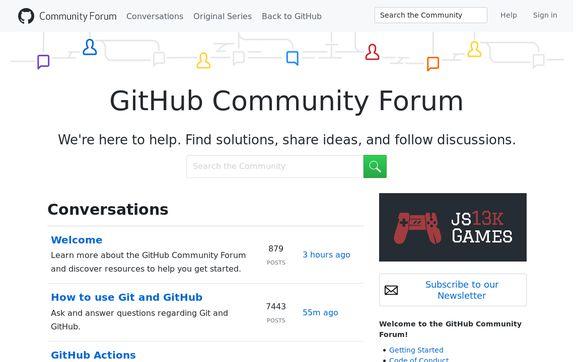 Github.community