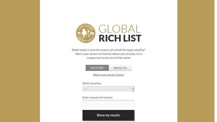 Global Rich List