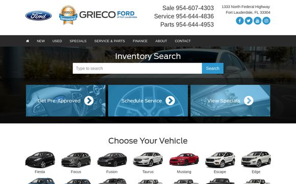 Grieco Ford Of Fort Lauderdale