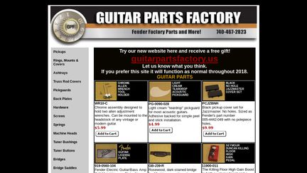 Guitar Parts Resource