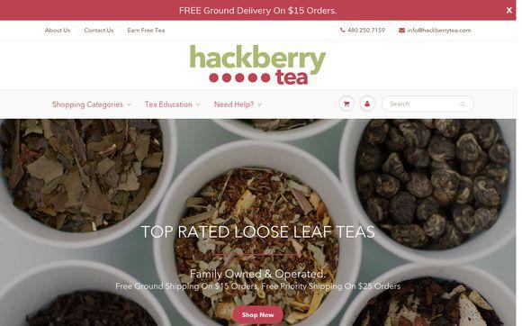 Hackberry Tea