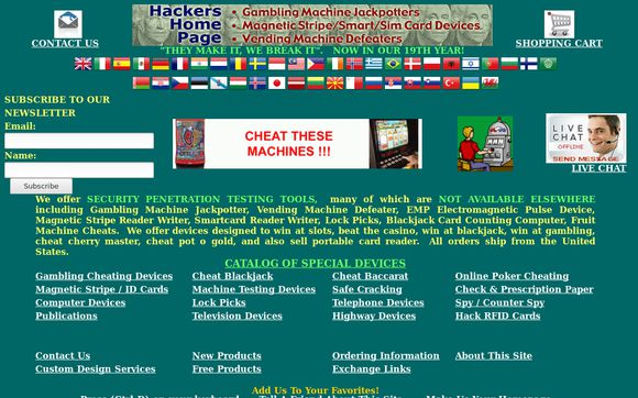 Hackers Home Page