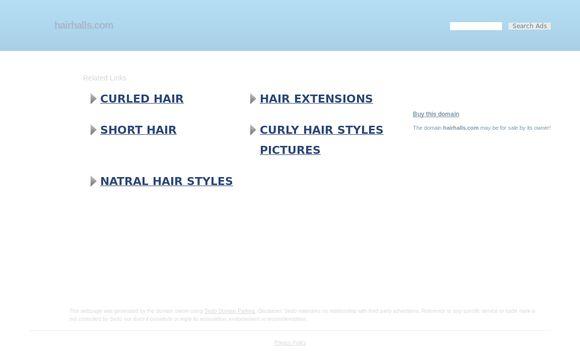 Hairhalls