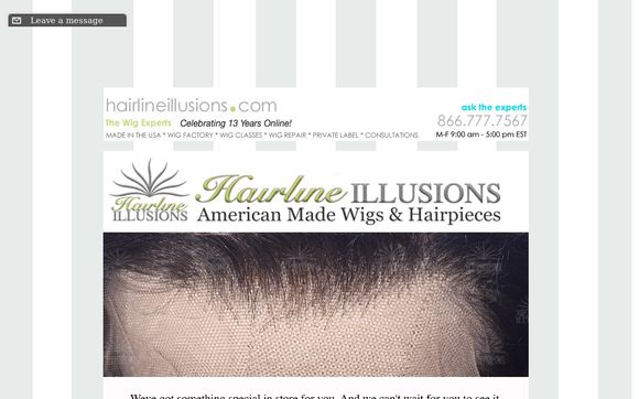 HAIRLINE ILLUSIONS