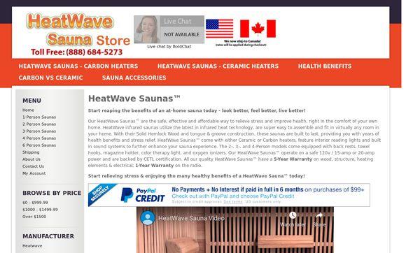 HeatWave Sauna Store
