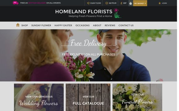 HomelandFlorists.co.uk