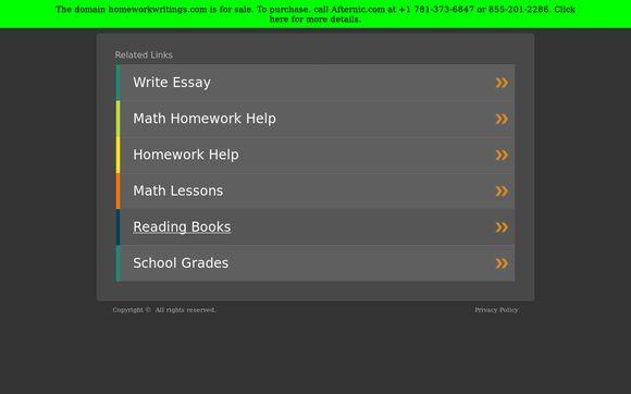 HomeworkWritings