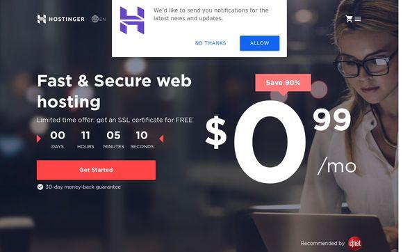 Hostinger Hosting Platform