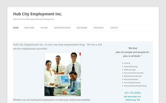 HubCityEmployment