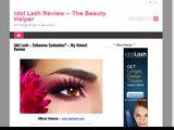 Idol Lash Review