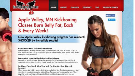 Apple Valley MN Kickboxing Classes