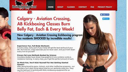 ILovekickboxing Calgary Aviation Crossing