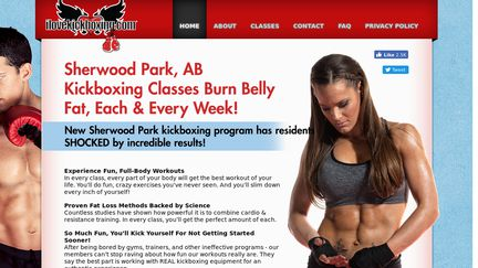 Sherwood Park AB Kickboxing Classes