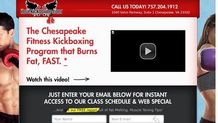 Chesapeake VA Kickboxing Classes