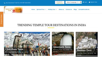 Indian Temple Tour