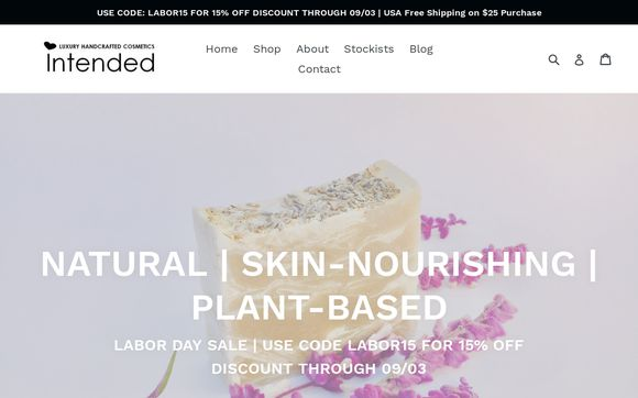 Intended Luxury Handcrafted Cosmetics