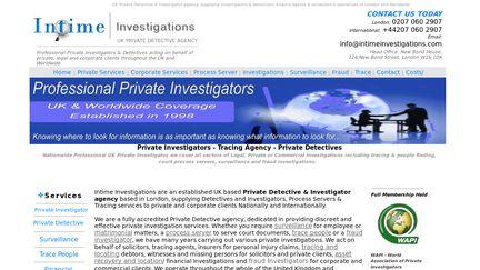 InTimeInvestigations