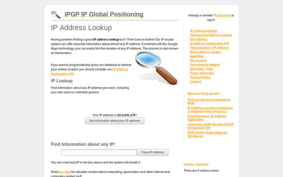 IPGP IP Global Positioning