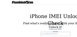 IPhoneUnlock Zone Reviews - 401 Reviews of Iphoneunlock zone