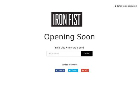 Iron Fist Clothing