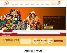 ISKCON Dwarka, ISKCON Temple In Delhi