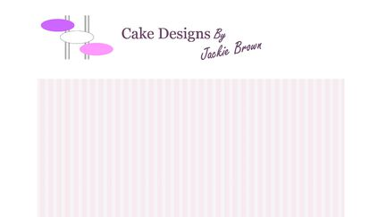 Cake Designs by Jacky Brown