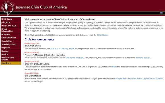 JapaneseChinClub.org