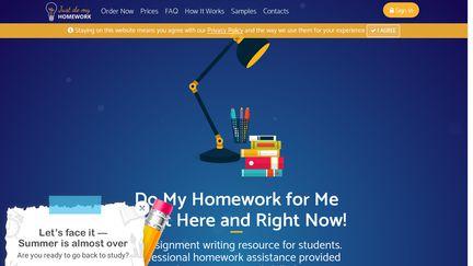 Just Do My Homework