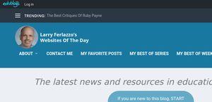 Larry Ferlazzo's Websites of the Day