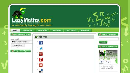 Lazymaths.com
