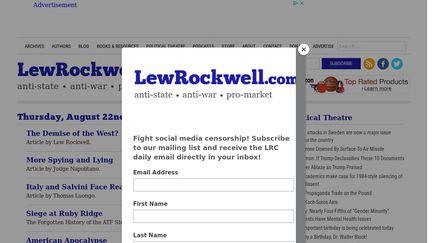Lew Rockwell