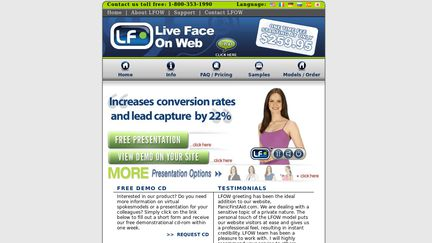LiveFaceOnWeb