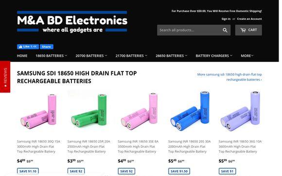 M&A BD Electronics