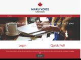 Maruvoicerewards.com