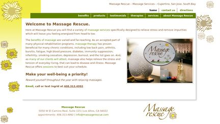 MassageRescue