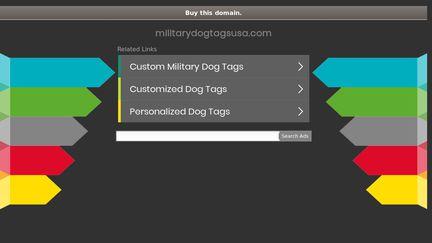 Military Dog Tags USA